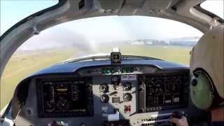 V�deo registra primeiro voo de avi�o que ser� fabricado em Lages