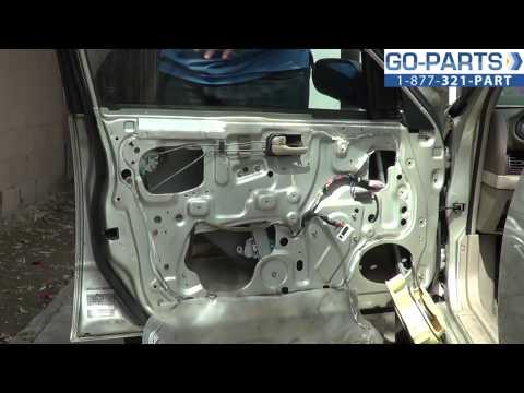 Replace 1993-1997 Nissan Altima Power Window Regulator, How to Change Install 1994 1995 1996 1997