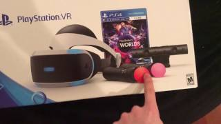 $1000 PLAYSTATION VR UNBOXING