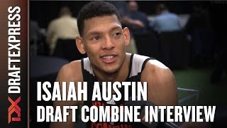 Isaiah Austin Draft Combine Interview