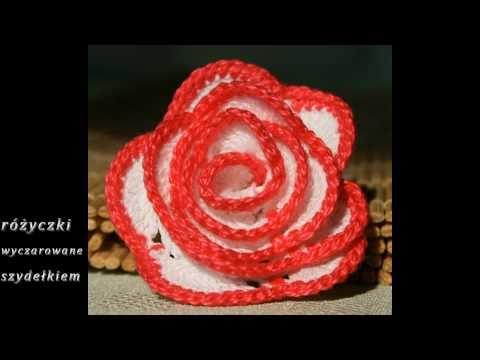 Różyczki szydełkowe; Crochet roses