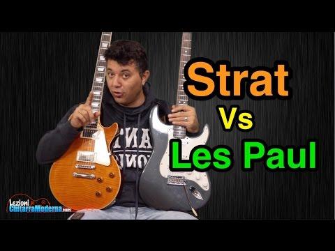 Stratocaster Vs Les Paul Giganti a Confronto - Lezioni di Chitarra Elettrica