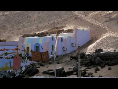 We visited a Nubian village. The Nubian civilization is one of the oldest in the world
