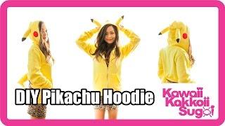 Pikachu Hoodie DIY - YouTube