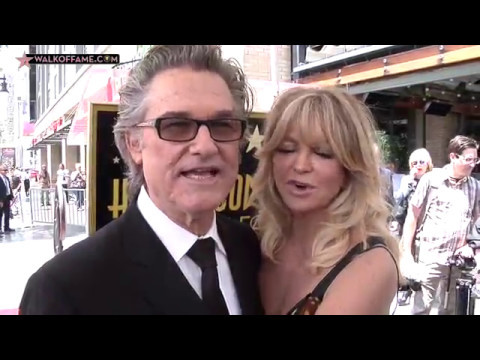 Goldie Hawn Walk of Fame Ceremony