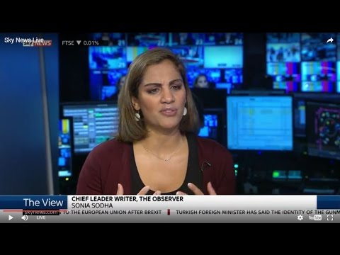 Sky News The View: Sonia Sodha on Brexit and Fabian Society Report