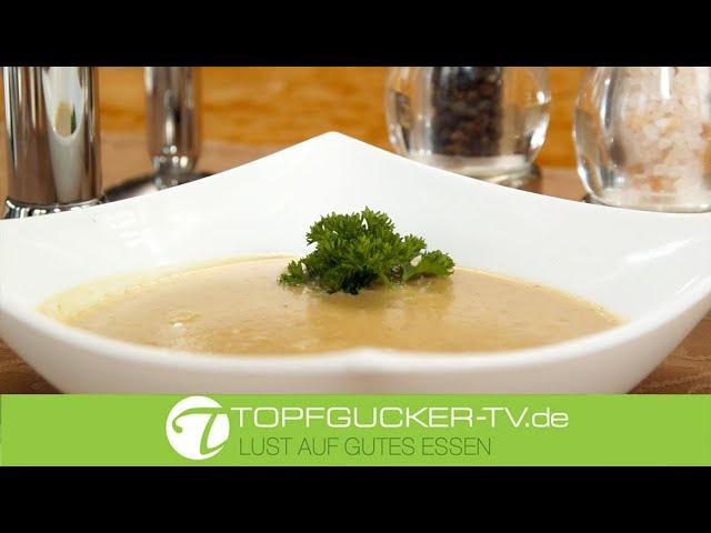 Maronen - oder  Esskastaniensuppe | Rezeptempfehlung Topfgucker-TV