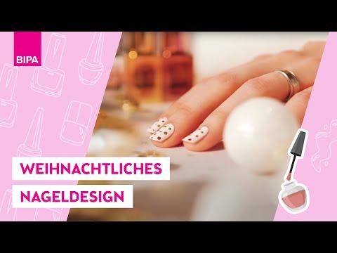Nageldesign - Tutorial: XMAS Nägel- LOOK BY BIPA create your look
