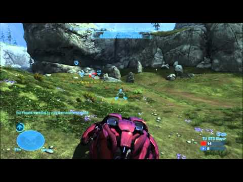 Halo Reach Multiplayer - In game 17 of my epic Big Team Battle multiplayer games, I play on Hemorrhage again for some good old fashioned Title Update BTB Slayer. In this one, I attem...