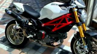 4. Ducati Monster 1100S full termignoni exhaust