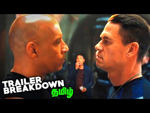 Fast and Furious 9 Tamil Trailer BREAKDOWN (தமிழ்)