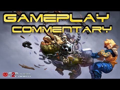 Dragon Nest First look Gameplay Commentary