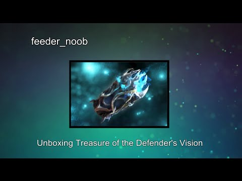 Dota 2 - Unboxing  and Item Previews of Treasure of the Defenders Vision