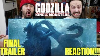 GODZILLA: King Of The Monsters -  FINAL TRAILER - REACTION!!! by The Reel Rejects