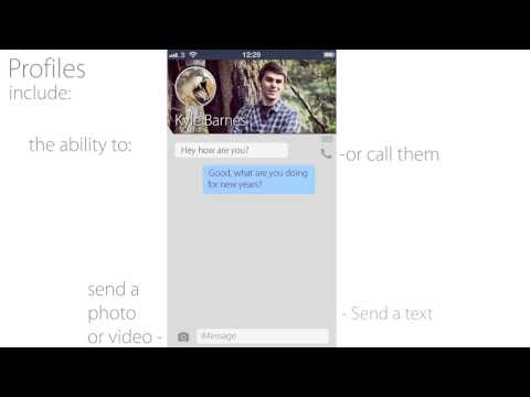"""iOS 7 """"Social Hub"""" Concept Begs to Be Turned into Reality"""