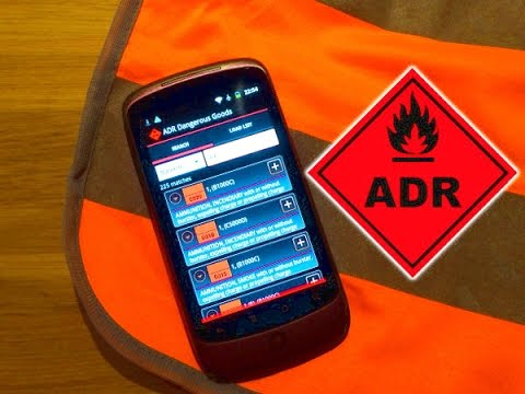 Video of ADR Dangerous Goods