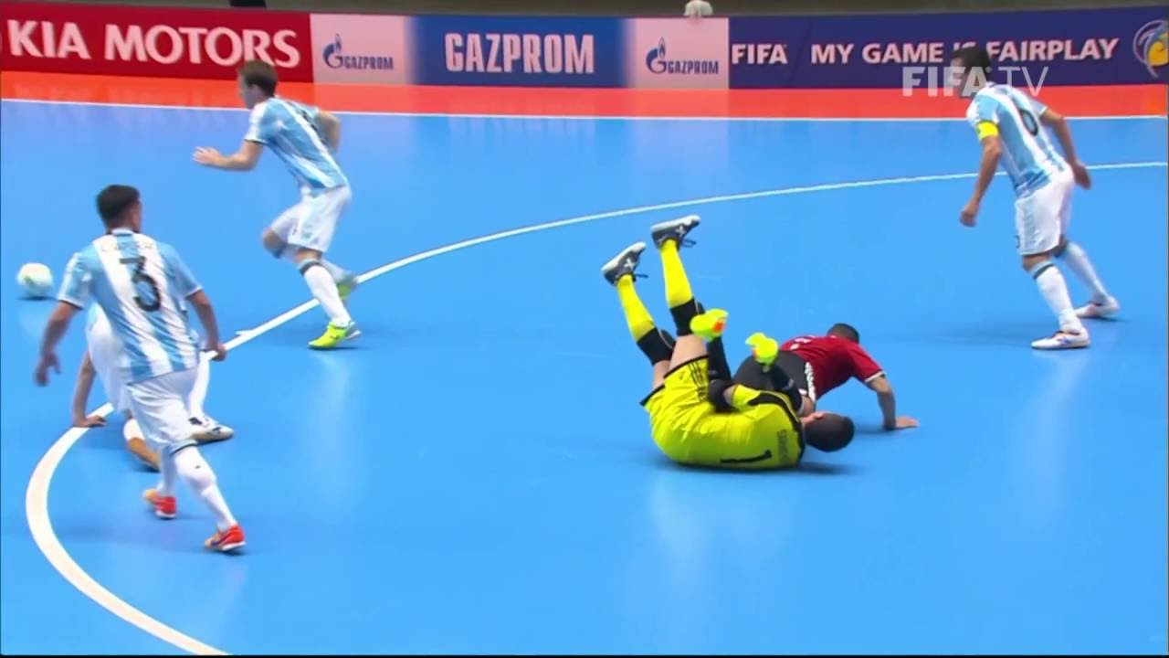 Match 47: Argentina v Egypt – FIFA Futsal World Cup 2016