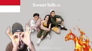 SHERYL SHEINAFIA & RIZKY FEBIAN Ft CHANDRA LIOW - Sweet Talk   INDONESIAN VIDEO REACTION