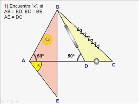 Vídeos Educativos.,Vídeos:Congruencia triángulos V