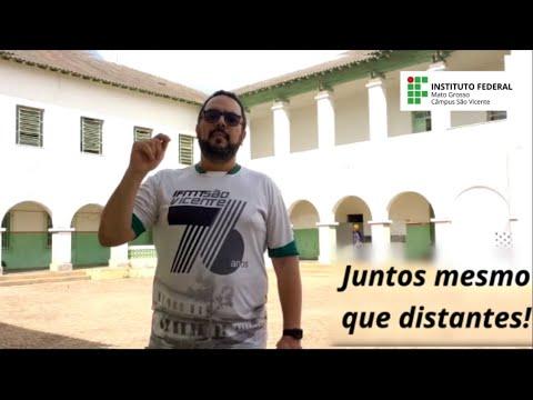 Video - Mesmo na pandemia, São Vicente não para: reformas e nova sede em Jaciara