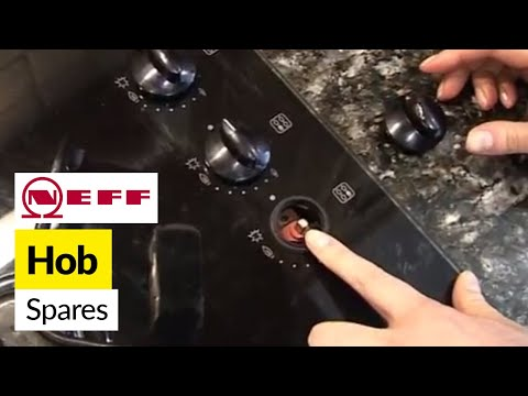 How to replace gas hob parts on a Neff cooker