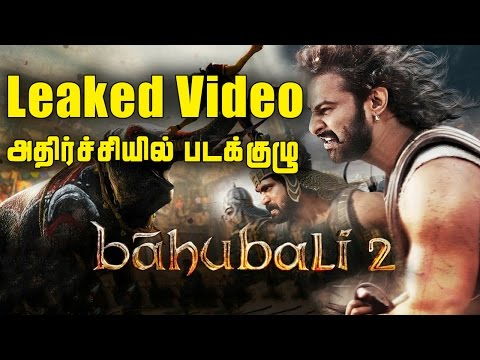 Baahubali 2 Leaked Video Gives A S ..