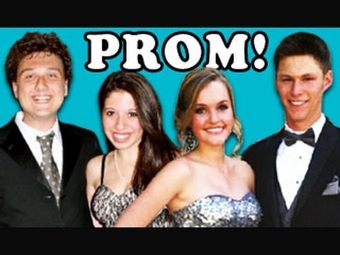 prom - Prom Bonus: http://bit.ly/KNJeZA Thanks for the LIKE/FAV! NEW Vids Sun, Tues & Thurs! Subscribe: http://bit.ly/TheFineBros FREE NETFLIX FOR A MONTH! http://n...