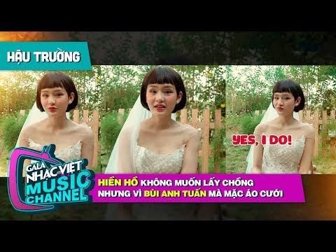 Hiền Hồ không muốn lấy chồng nhưng vì Bùi Anh Tuấn mà mặc áo cưới  Gala Nhạc Việt Bài Hát Của Tháng - Thời lượng: 3 phút và 39 giây.