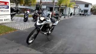 7. 2012 BMW G650GS SERTAO Motorcycle