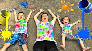 Video Learn Colors with Color T-SHIRT Educational video for Children Toddlers Babies by Joy Joy Lika MP3, 3GP, MP4, WEBM, AVI, FLV Januari 2019