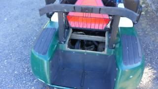 8. 2002 EZGO gas Golf Cart governor adjustment 20+ MPH