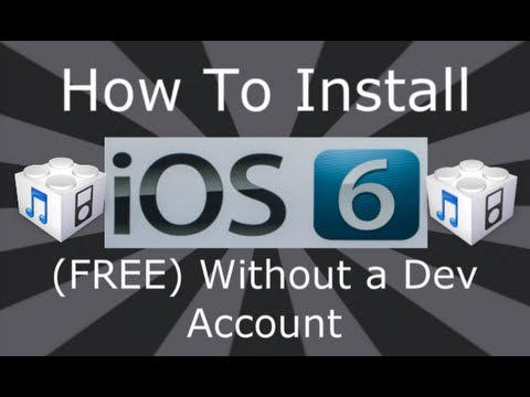 DinoZambas2 - Please Read ▽ How To Install NEW iOS 7 (FREE) Without A Dev Account Or UDID http://youtu.be/yPyQxSozAwM ✓ For more updates and help come follow me on twitter...