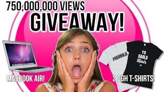 MacBook Air + 2 CGH T-Shirts GIVEAWAY! | CuteGirlsHairstyles by Cute Girls Hairstyles