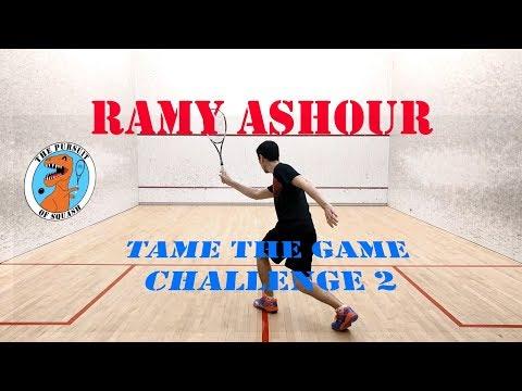 Ramy Ashour - #TameTheGame Challenge Number 2
