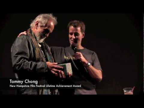 Former Cop Juston McKinney Presents Tommy Chong Lifetime Achievement Award