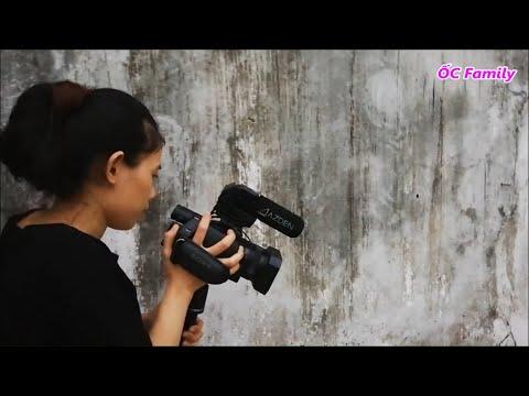 Khi mẹ ỐC được làm camera woman chính :3