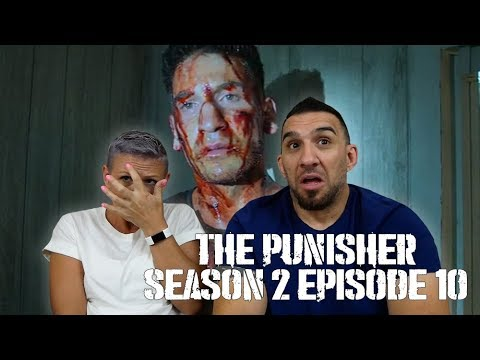 Marvel's The Punisher Season 2 Episode 10 'The Dark Hearts of Man' REACTION!!