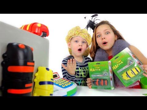 Игрушки для детей. Покупаем гусеницу Магна! (видео)