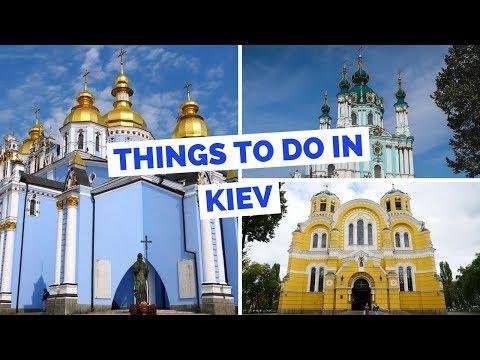 Kyiv (Київ) - 20 things to do Kiev, Ukraine Travel Guide (видео)