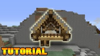 Minecraft Tutorial: How To Make A Cliff House