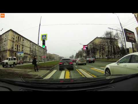 Хiаомi Мijiа Саr DVR Самеrа - обзор автомобильного видеорегистратора тест днем и ночью - DomaVideo.Ru