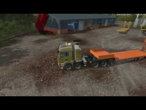 TGS 41 570 8x8 agricultural heavy duty v1.0