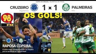 Melhores Momentos de CRUZEIRO 1 x 1 PALMEIRAS em breve aqui, enquanto isso assista aos Gols com a Narração Zueira de...