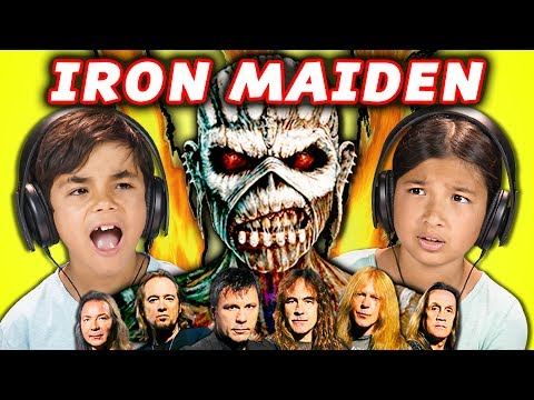 Kids React to Iron Maiden