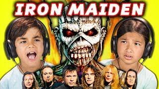 Video KIDS REACT TO IRON MAIDEN (Metal Music) MP3, 3GP, MP4, WEBM, AVI, FLV Mei 2018