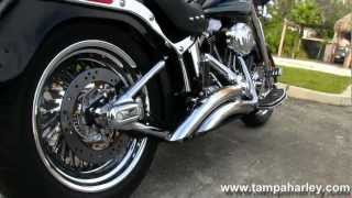 8. Used 2008 Harley-Davidson FLSTF Fat Boy with Vance & Hines Exhaust