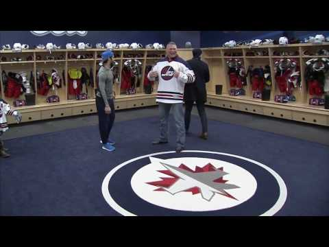 Download Gotta See It: Jets players freak out as Brock Lesnar breaks sacred dressing room rule HD Mp4 3GP Video and MP3