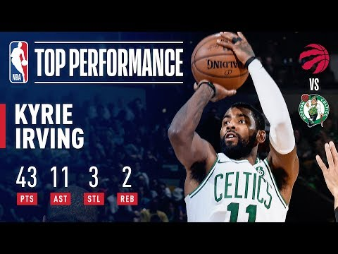Video: Kyrie Irving Leads the Way With 43 Points & 11 Assists Vs. The Raptors | November 16, 2018