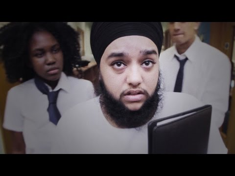 Harnaam Kaur, 24, from Slough endured years of bullying for having facial hair caused by polycystic ovary syndrome. With Fixers, she's helped create this film to demonstrate the lasting impact of hurtful words.
