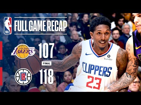 Video: Full Game Recap: Clippers VS Lakers | Lou Williams Catches Fire